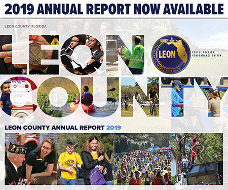 Leon County Annual Report Cover