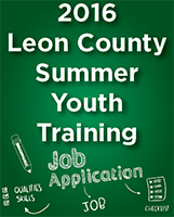 Leon County Summer Youth Training