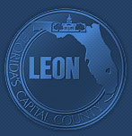 The Leon County Seal displayed as a watermark