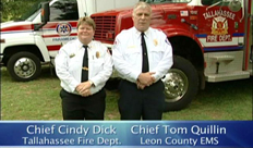 Leon County Florida, EMS and the City of Tallahassee Fire Services Consolidate