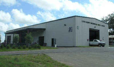 Photo of the New Leon County Hazardous Waste Center