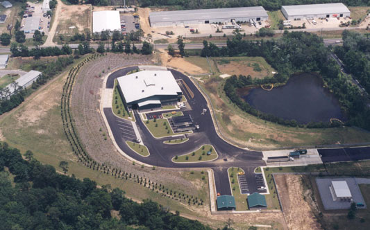 Arial View of the Leon County Transfer Station