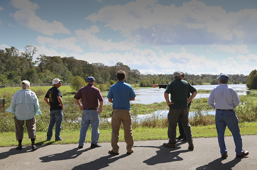 Image from the Clean Water and You Water School at Lake Henrietta